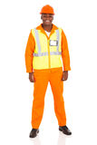 African industrial worker Royalty Free Stock Photo
