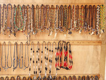 African Jewelry Display Royalty Free Stock Photos
