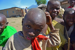African kids - Massai Stock Photos