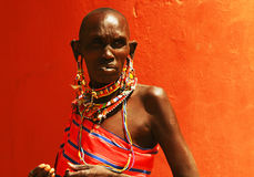 African lady Royalty Free Stock Image