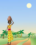 African lady Royalty Free Stock Photo