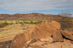 African landscapes - Damaraland Namibia Royalty Free Stock Photo