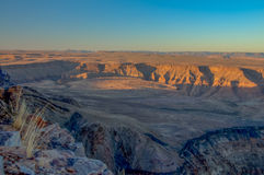 African landscapes - Fish River Canyon, Namibia Stock Images