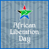 African Liberation Day Stock Image