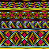African line pattern Stock Photography