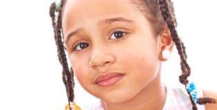 African little girl Stock Photos