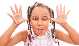 African little girl Royalty Free Stock Photo