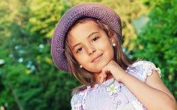 African little girl Stock Image