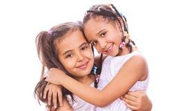 African little girls Stock Photos