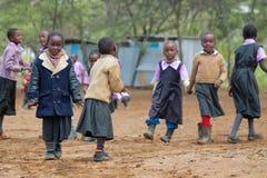 African little school children Stock Image