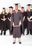 African male graduate Royalty Free Stock Images