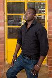 African male model Royalty Free Stock Photography