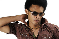 African male model Royalty Free Stock Photo