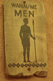 African male toilet sign Royalty Free Stock Photos
