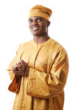 African Man. This is an image of a man wearing an attire Stock Photography