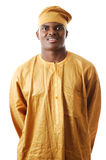 African Man. This is an image of a man wearing an attire Stock Photo