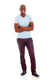 African man arms crossed Stock Photography