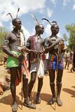 African tribal men Stock Image