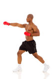 African man boxing Stock Images