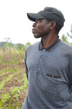 African Man in Field Royalty Free Stock Images