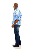 African man looking back Stock Photography
