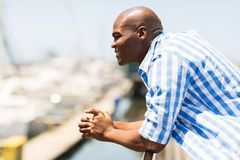 African man outdoors Stock Photography