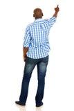 African man pointing Stock Photos