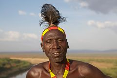 African man portrait Royalty Free Stock Photo