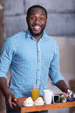 African man preparing for marriage proposal Stock Photos