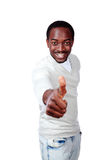 African man with thumb up Stock Image