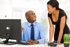 African manager businesswoman Stock Photo