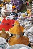 African market. The colors of african market Stock Photos