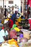 African Market Royalty Free Stock Photography