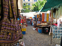 African Market Royalty Free Stock Photo