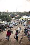 African market in Punta do Ouro, Mozambique Stock Photos