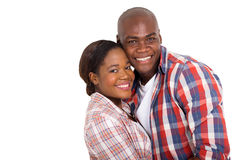 African married couple royalty free stock photo