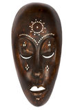 African Mask. On white background Royalty Free Stock Photo