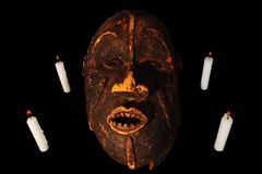 African Mask Royalty Free Stock Photography