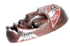 African mask royalty free stock photo
