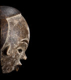 African mask carved Royalty Free Stock Photography