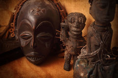 African mask Stock Image