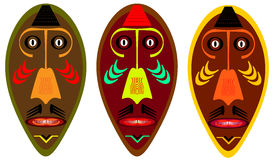 African mask. Royalty Free Stock Images