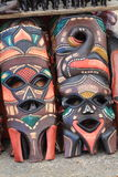 African Masks Royalty Free Stock Photo