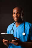 African medical doctor Stock Photos