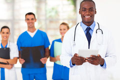 African medical doctor Stock Image