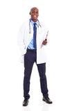 African medical worker Royalty Free Stock Photos