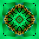 African meditation mandala Stock Photography