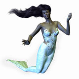 African Mermaid Royalty Free Stock Photography