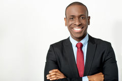 African middle aged business executive Royalty Free Stock Photo