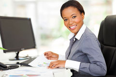African modern office royalty free stock image